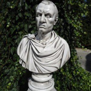 Scultura Busto Statua Giulio Cesare