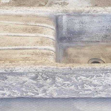 lavandino 80x40x22 grigio 2